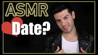 Gambar cover ASMR - Bad Boy Role Play | Nerd Date Series (Male Whisper, Leather Sounds for Sleep & Relaxation)