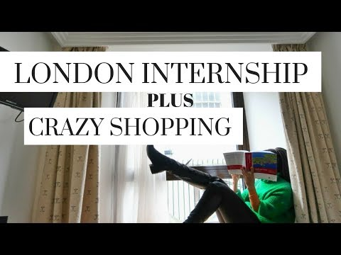 London shopping is MENTAL!!! London Internship vlog. Harrods