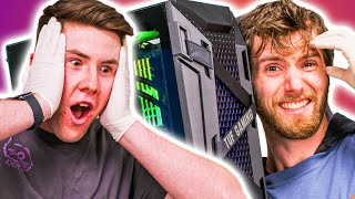 The Gaming PC we built for him is AMAZING - ROG Rig Reboot 2020