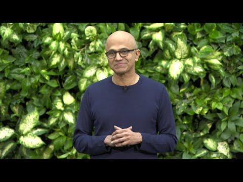 Microsoft CEO Satya Nadella on Microsoft's Commitment to Become Carbon Negativ...