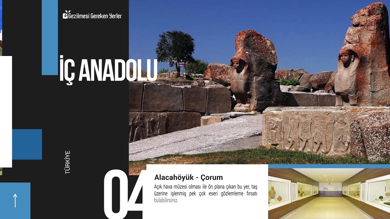 İç Anadolu Bölgesinde Görülmesi Gereken Yerler