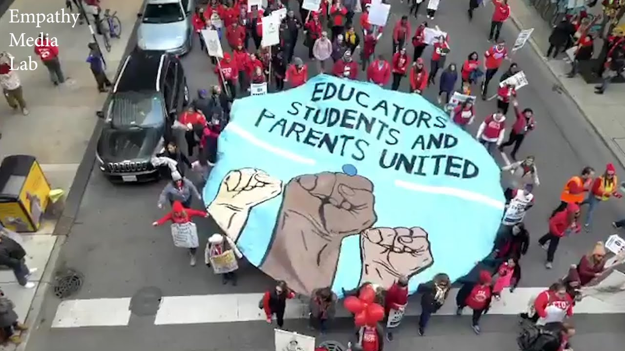 Interview Alison Eichhorn - Chicago Teachers Union