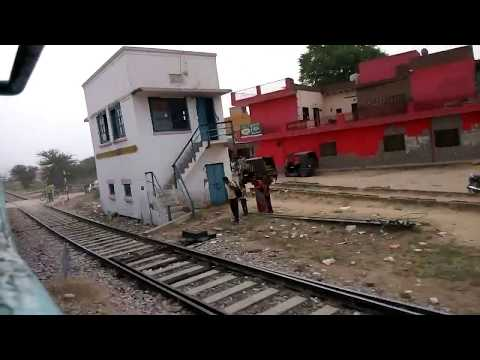 FULL JOURNEY 22472 Delhi Sarai Rohilla - Bikaner SF Intercity Express