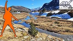 RANDO Etangs & Refuge de Bassiès (1.755M), Balade Hivernale, Auzat, Vicdessos - ARIEGE PYRENEES 4K