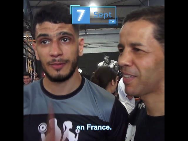 #Meaux - Youssef BOUGHANEM Le champion du monde de Boxe Thai a fait le déplacement au Tek Gym