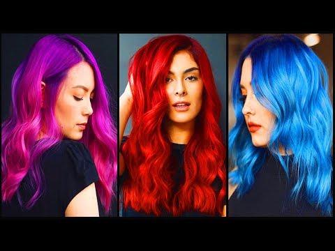 Top 10 Amazing Hair Color Transformation Tutorial Compilation! Long Hair Transformation