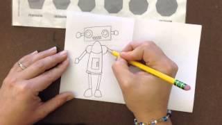 Geometric Shape Robot Ideas