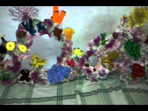 Decoraci n de corales para acuarios youtube - Decoracion para peceras ...