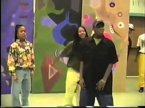 Big Boi of OutKast rehearsing and performing at age 17 (1993)