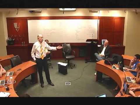 Peter Till Lecture @ Duke University
