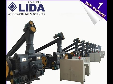 Wood Briquetting production line from LIDA