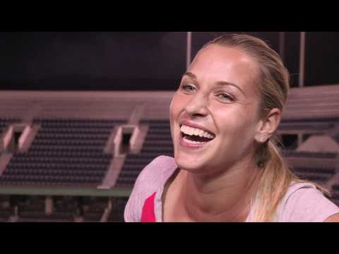 Dominika Cibulkova - Xperia Hot Shots Profile (CC Subtitles)