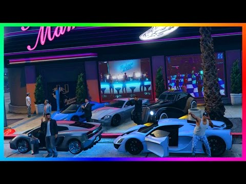 GTA ONLINE BILLIONAIRE'S CLUB RICHEST SPECIAL - MOST EXPENSIVE GTA 5 CELEBRITY SUPER CARS & MORE!