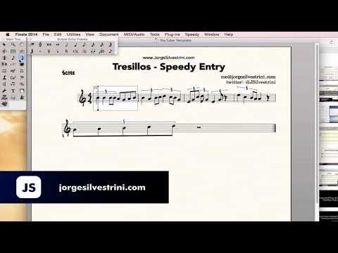 Finale 2014: Tresillos - Speedy Entry - Jorge Silvestrini