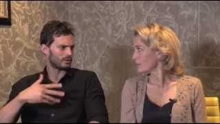 Jamie Dornan and Gillian Anderson talk to BBC about 'The Fall' Season 2