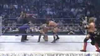 Undertaker and Batista VS Edge and Randy Orton