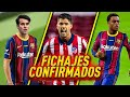 LOS ÚLTIMOS RUMORES Y FICHAJES YA CONFIRMADOS del FC BARCELONA