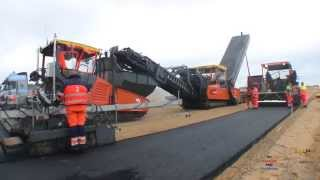 The First Asphalt On The New Motorway