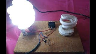 Make a Tesla Coil at Home | Wireless Power Transfer