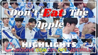 PRODUCE '프로듀스' X 101 Highlights #8 || Don't Drop The Apple