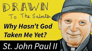 Drawn to the Saints - Saint John Paul II