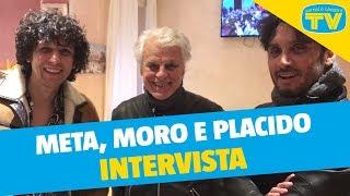Ermal Meta, Fabrizio Moro e Michele Placido - Intervista