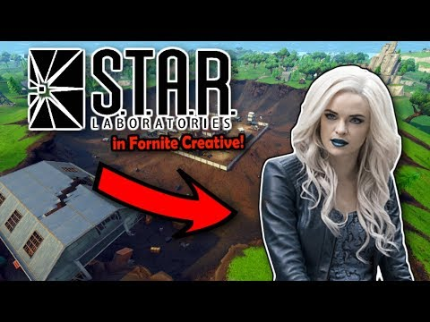 STAR Labs From The Flash Built In Fortnite Creative!