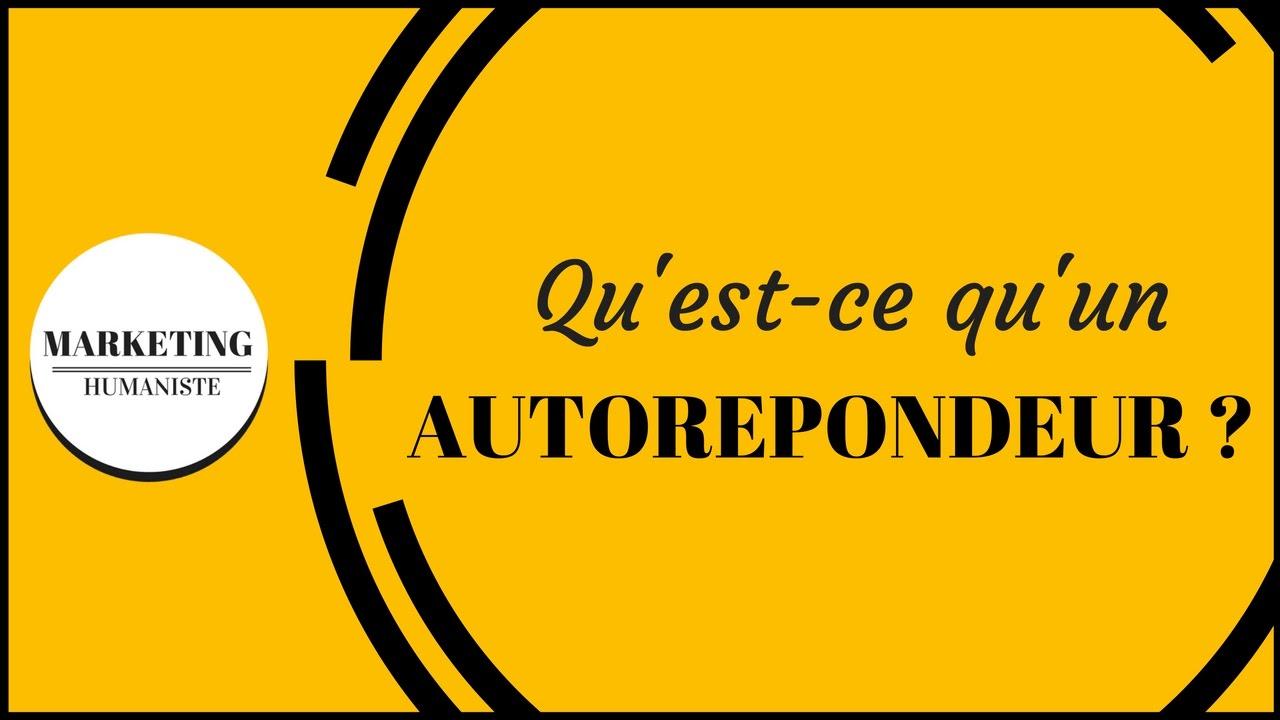 AUTOREPONDEUR GRATUIT TÉLÉCHARGER