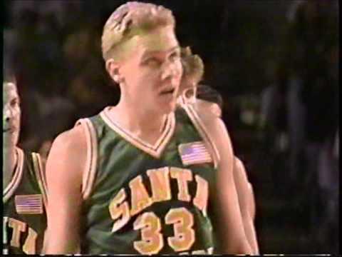 1991 CIF Boys Basketball Championship game:  Santa Barbara wins the title