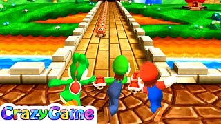 Mario Party The Top 100 - All Enemy Minigames Gameplay