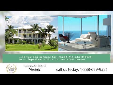 Drug Rehab Virginia - Inpatient Residential Treatment