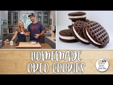 Homemade Oreo Cookies  Baking With Josh & Ange