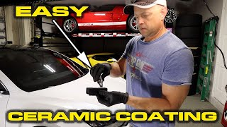 I CERAMIC COATED MY CAR * How to ceramic coat your own car in just a few hours