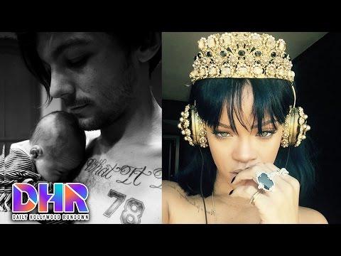 "Louis Tomlinson Reveals Baby's Name- Rihanna Drops New Album ""Anti'"" (DHR)"