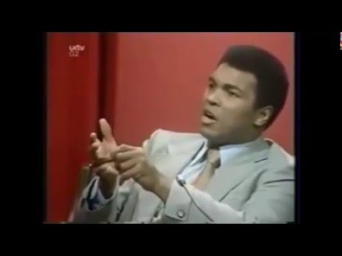 Muhammad Ali tears down TV talk show host