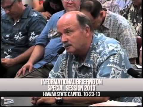 Phil Lees Ontario, Canada Teacher Briefing House of Representatives, Hawaii