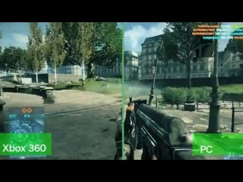 Battlefield 3: PC vs Xbox Graphics - By GameSpy - YouTube