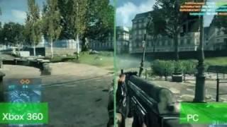 Battlefield 3: PC vs Xbox Graphics - By GameSpy