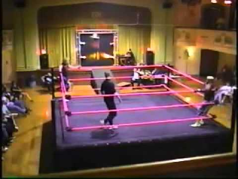 Koko B. Ware vs. Jimmy Blaze (BSPW Heavyweight Championship)