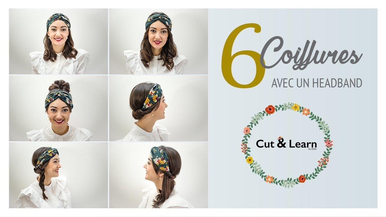 6 coiffures avec un headband