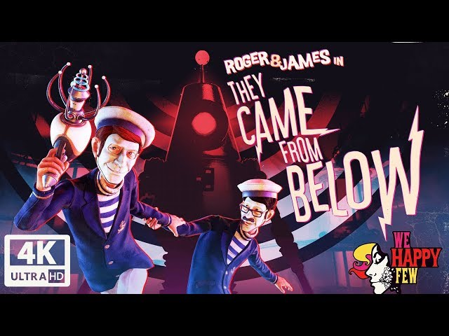 We Happy Few: They Came From Below DLC All Cutscenes (Game Movie) 4K UHD 60FPS