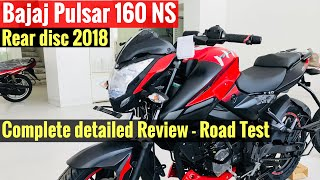 2018 Bajaj Pulsar 160 NS Rear Disc review | Road Test
