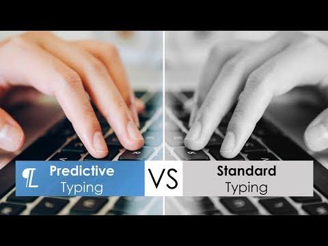 Standard Typing vs. Predictive Typing using Lightkey