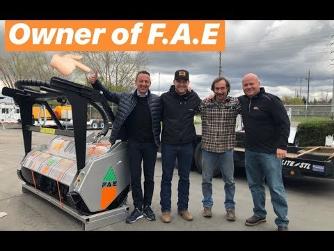 BUYING A NEW MULCHER(S) AND MEETING THE OWNER OF F.A.E/PRIMETECH!!!!
