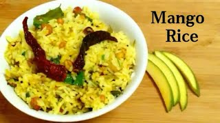 Mango rice recipe | Raw Mango  Rice | Green Mango Rice | Mango sticky rice | Delicious Food Recipes|
