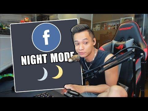 """(Talkshow) Xử lý tình trạng """"Facebook Night Mode""""."""