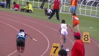 20140509-全國小學田徑錦標賽- 屏東縣代表隊男童400公尺大隊接力預賽