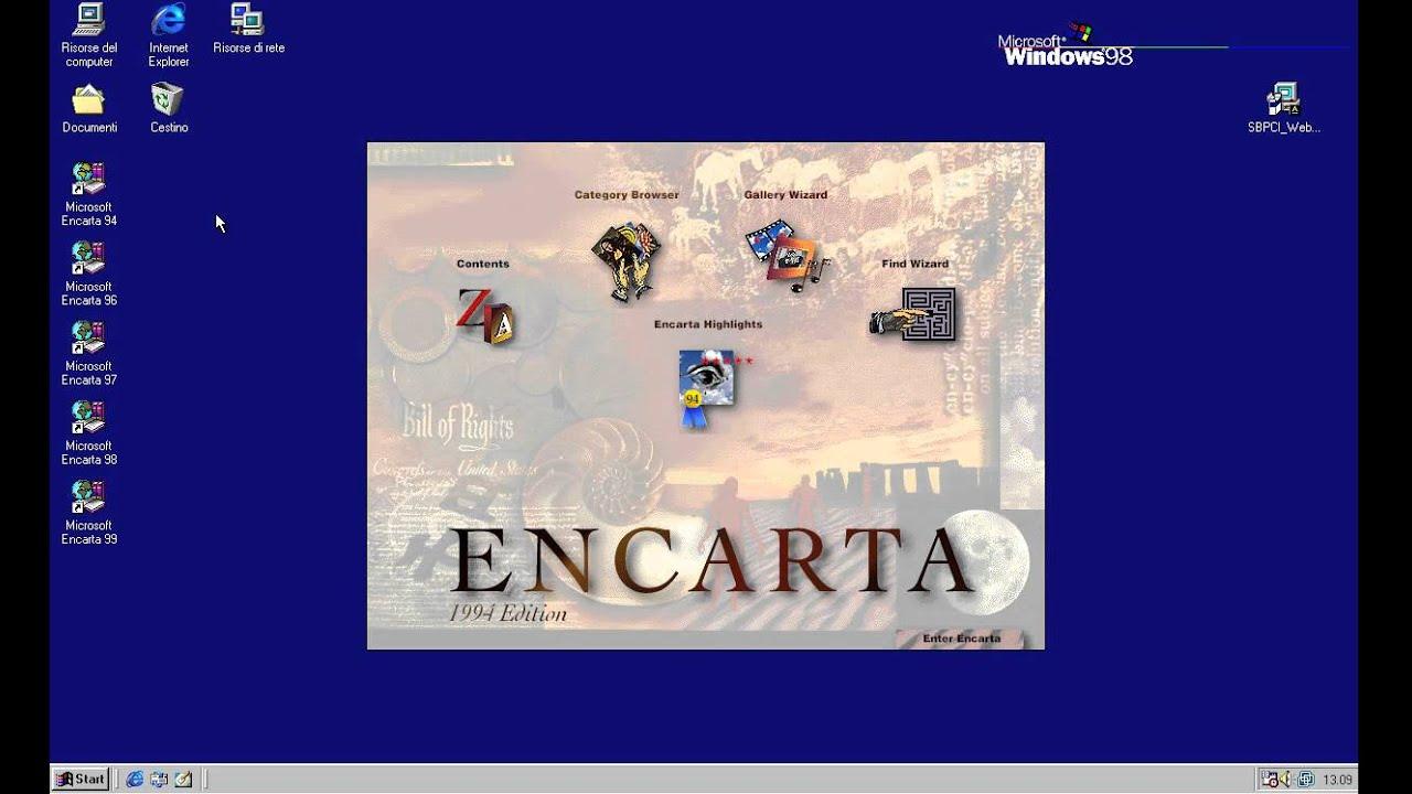 Microsoft encarta encyclopedia