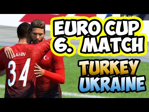 FIFA 17 PRO CLUB / IFVPA / EURO CUP / TURKEY vs UKRAINE  / 6.Match