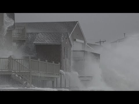 Nor'easter brings massive storm surge and flooding to East Coast
